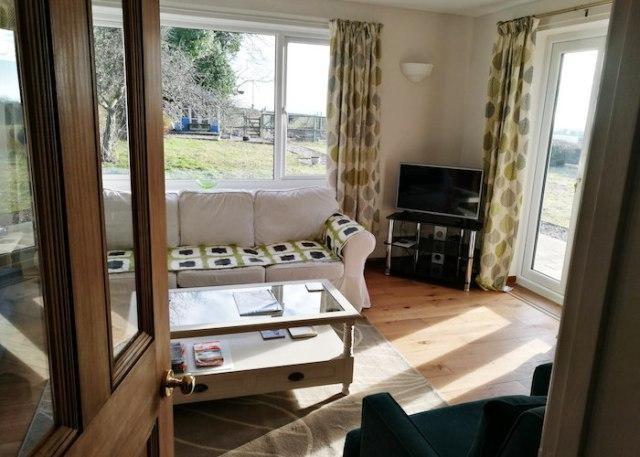 Sitting room, North Lodge Dorset