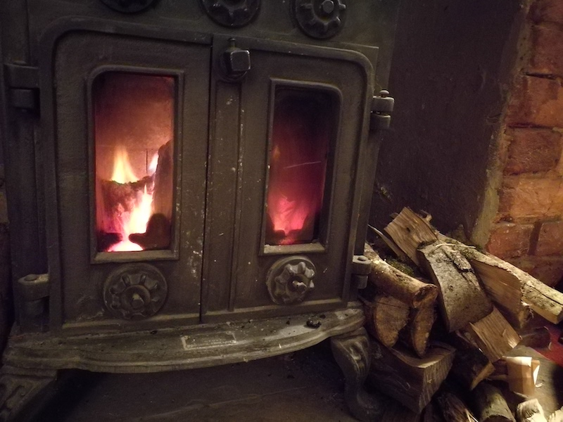 Cosy inside at North Lodge Dorset